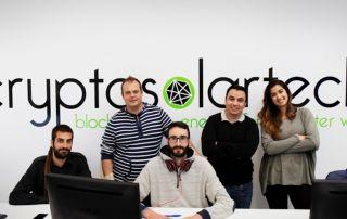 CryptoSolarTech startup