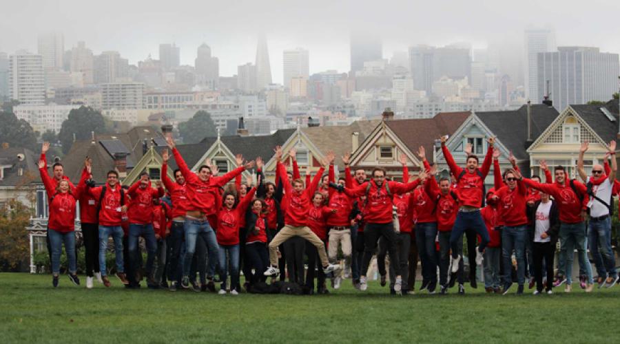 53 emprendedores llevarán sus proyectos a Silicon Valley de la mano de Banco Santander