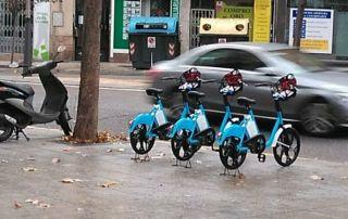 Las bicicletas eléctricas también desembarcan en Sevilla